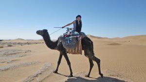 Bianca dans le désert