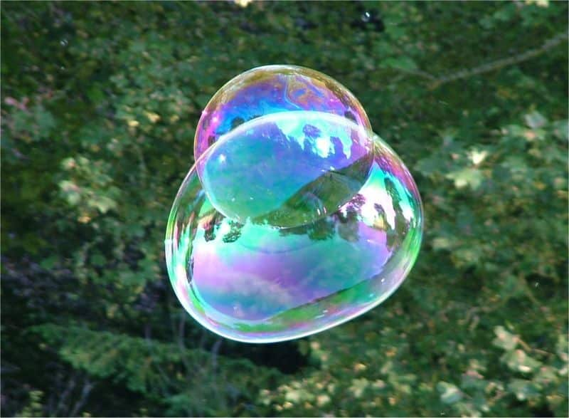 2 bulles de savon