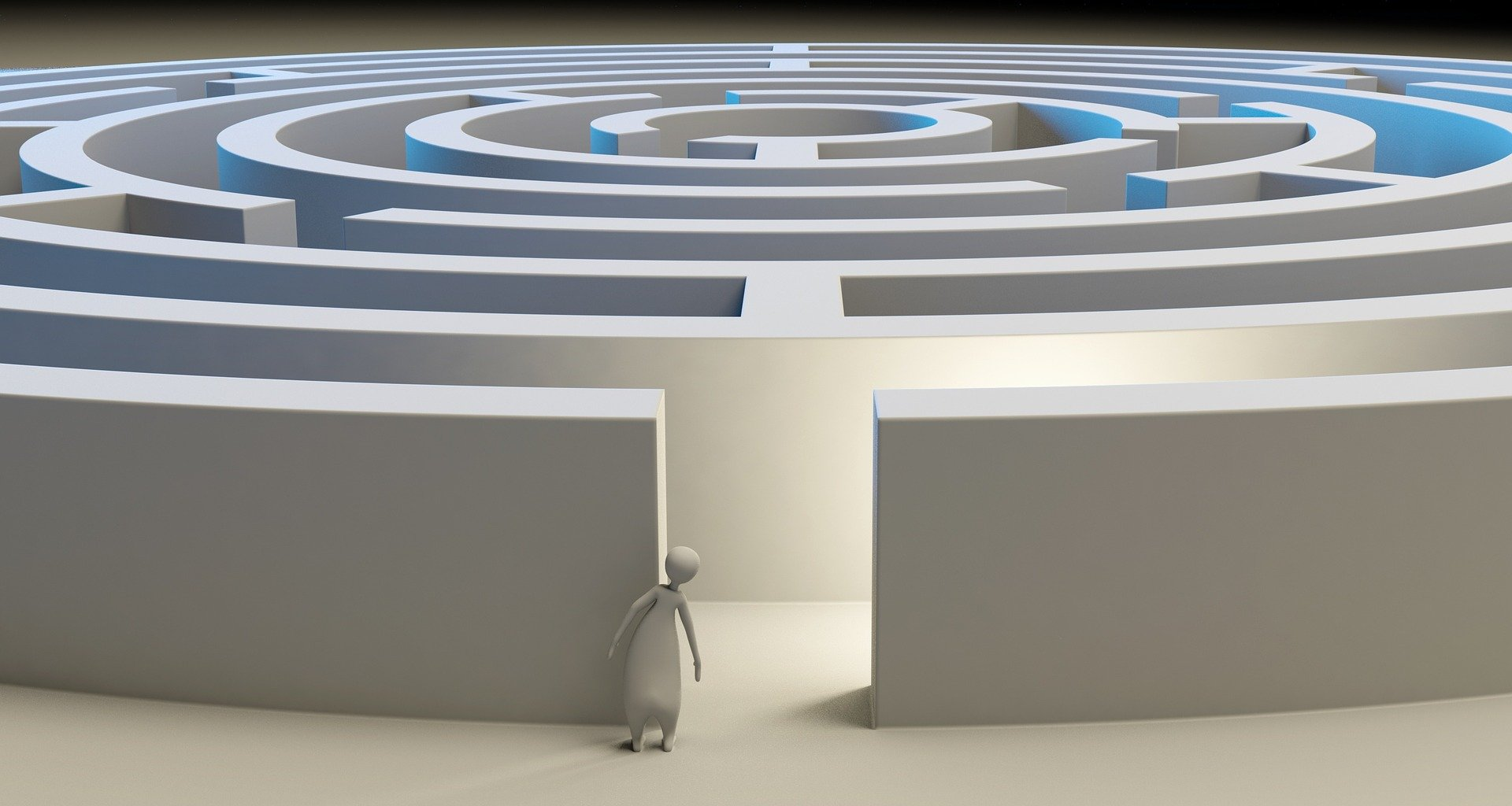 Votre vie sera un labyrinthe si vous ne voyez pas le labyrinthe…